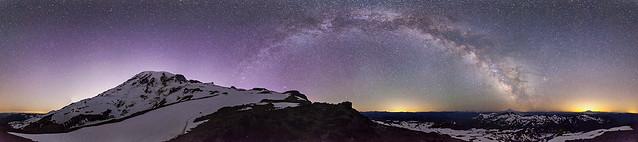 Mount Rainier Midnight Wonders