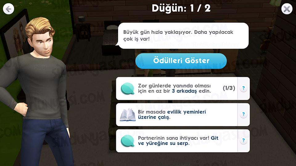 The Sims Mobile Relationships İlişkiler