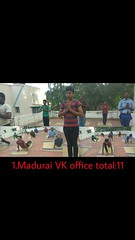 International Day of Yoga at Madurai