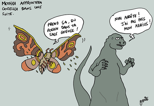 17_Mothra contre Godzilla Aerius