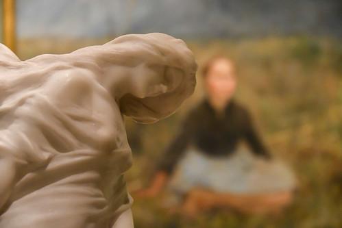 Oil & sculpture