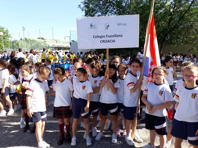 Olimpiadas escolares Alcorcón 2017