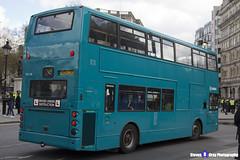 Dennis Trident 2 Alexander ALX400 - V628 LGC - DLA128 - Arriva - Driver Under Training - London 2017 - Steven Gray - IMG_8787
