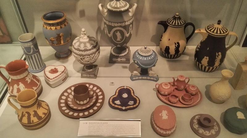 WEDGWOOD MUSEUM how colorful jasperware!