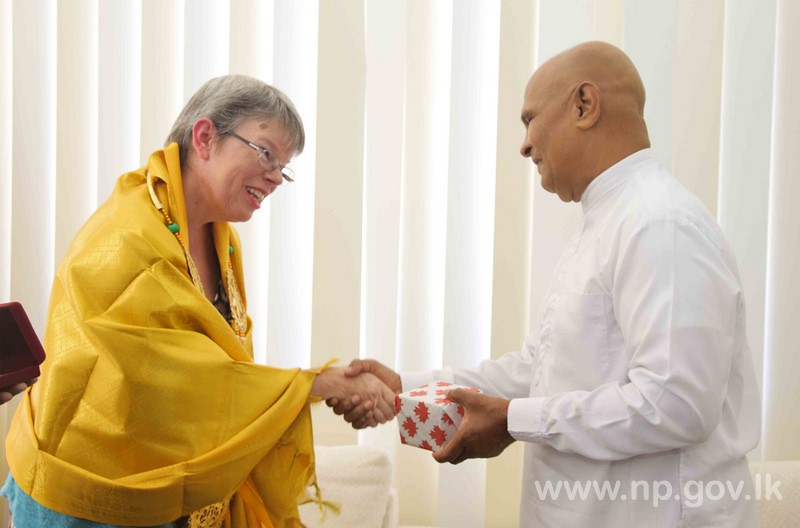 Canadian High Commissioner to SL calls on Governor
