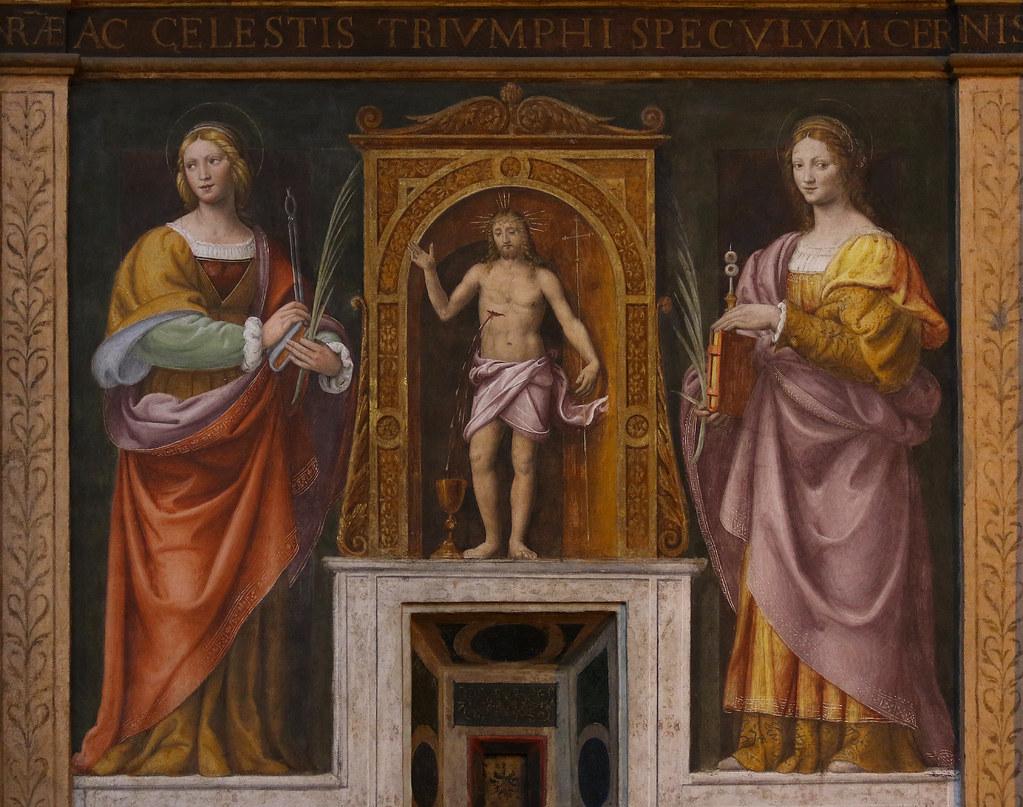 Bernardino Luini (1481-1532) Santa Lucia e Sant\'Apollonia … | Flickr