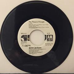 JANET JACKSON:THE PLEASURE PRINCIPLE(RECORD SIDE-B)