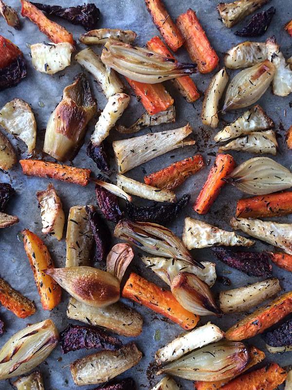 ristede rotgrønnsaker