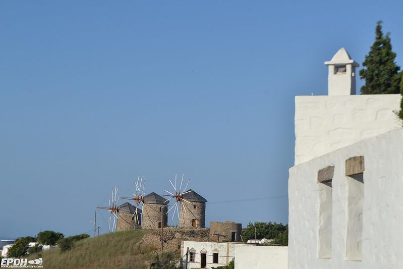 Molinos en Patmos