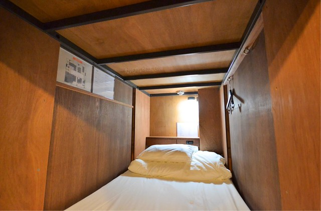 the dorm hostel osaka capsule bed