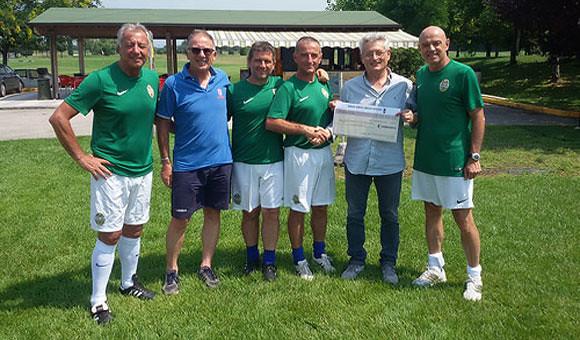 Tra calcio e solidarietà: la Virtus Verona ha fatto gol!