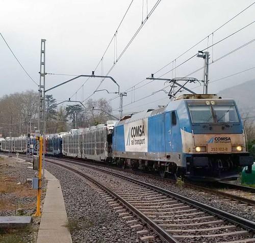 COMSA Rail Transport incrementa en un 25% sus tráficos ferroviarios respecto a 2015