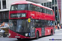 Wrightbus NRM NBFL - LTZ 1227 - LT227 - Clapton Pond 38 - Arriva - London 2017 - Steven Gray - IMG_9215