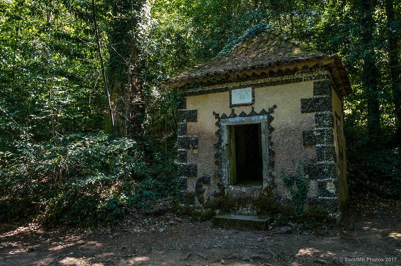 La Capela de Annas del Via Crucis de Buçaco