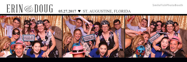 Treasury on the Plaza St. Augustine Wedding Photo Booth