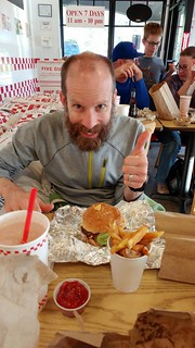 5 Guys Burger and Fries Post Race | by ActiveSteve