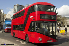 Wrightbus NRM NBFL - LTZ 1013 - LT13 - Pimlico 24 - Metroline - London 2017 - Steven Gray - IMG_8637