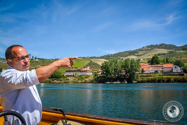 Douro River boat ride with Jorge Barefoot Wine & Tours