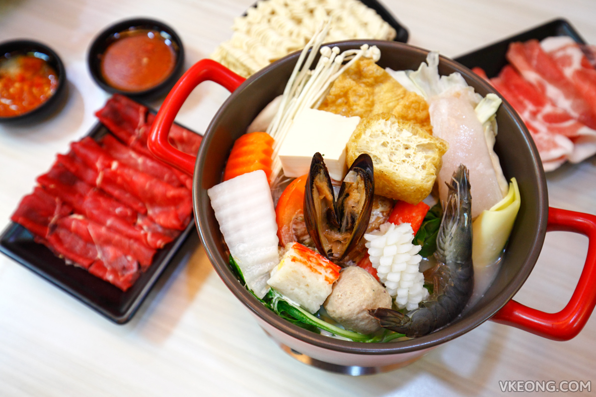 Two Pesos Steamboat Milky Seafood Pot