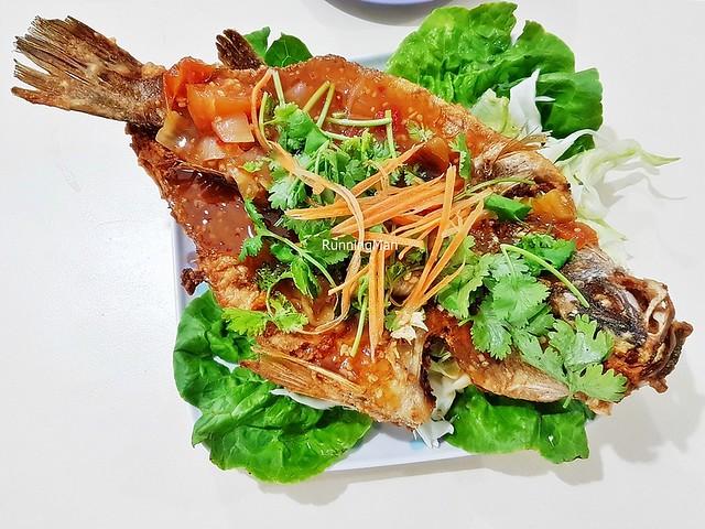 Deep-Fried 3 Tastes Sea Bass Fish