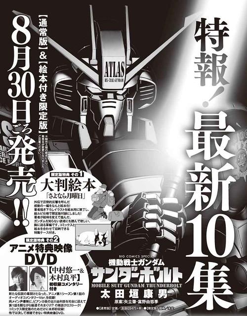 Gundam Thnderbolt Manga Vol 10 - Date