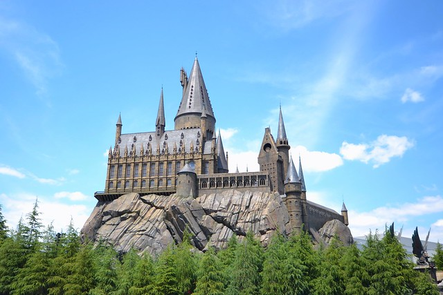 universal studios japan forbidden journey harry potter hogwarts
