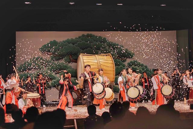 yokaichi girls Konatsu [little summer] yuzu, nigori momoko [peachy girl] peach, nigori   yokaichi mugi shoshu 18% gratuity will be added for parties of 6 or more.