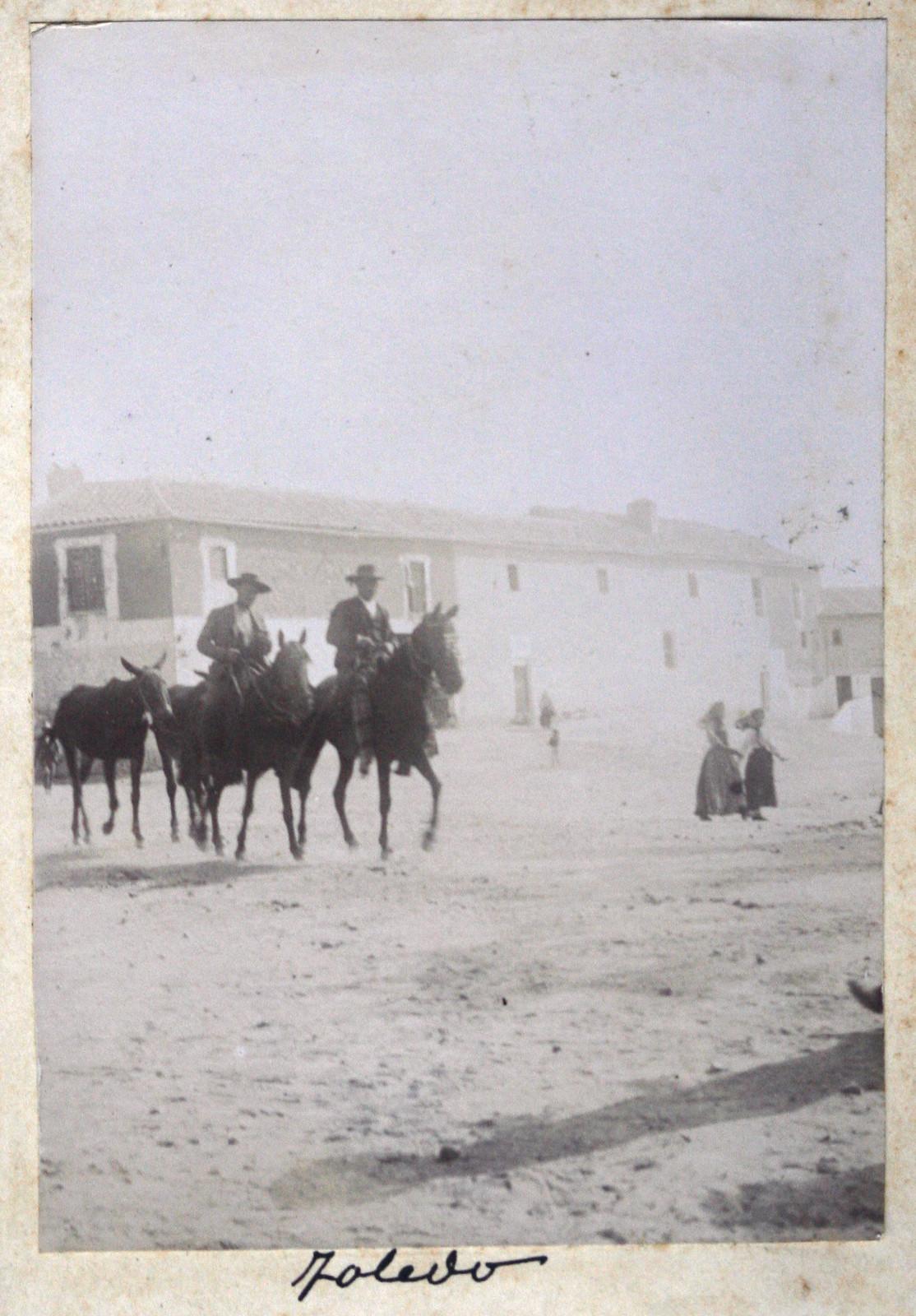 Toledo en 1895. Fotografía de Ulpiano Checa. Coleción personal de Ángel Benito.