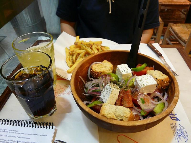 Salada Grega - Grécia