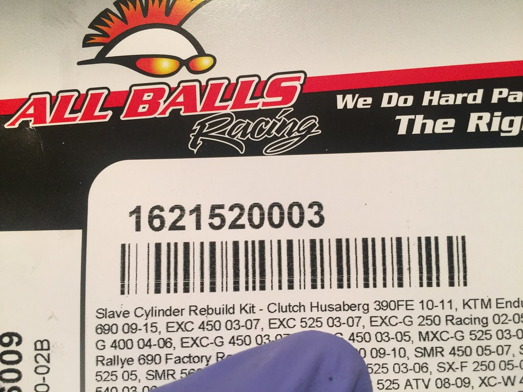 ALL BALLS CLUTCH MASTER CYLINDER REPAIR KIT KTM EXC 200 2004-2005