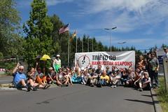IPPNW-Protest in Büchel. Foto: IPPNW (CC BY-NC-SA 2.0)
