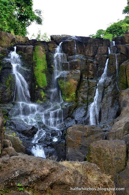 halfwhiteboy - talay falls, hidden falls, luisiana, laguna 16