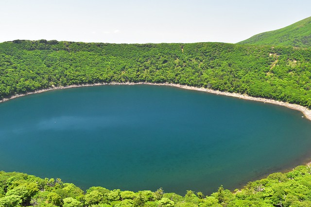 韓国岳・大浪池