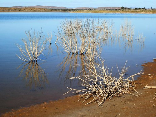 The Retention Dam, Copley, Outback South Australia