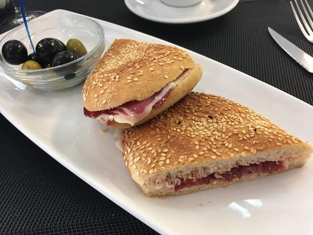 Iberico ham sandwich - Store Cafe