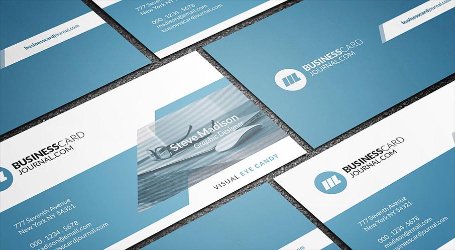 Modern Web Developer Business Card Template