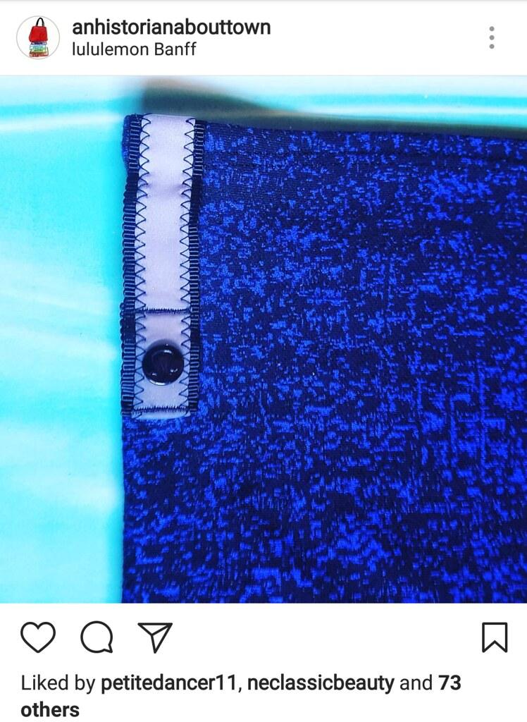 Lululemon Vinyasa Scarf Instagram