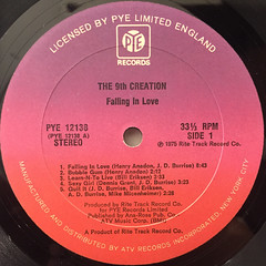 THE 9TH CREATION:FALLING IN LOVE(LABEL SIDE-A)