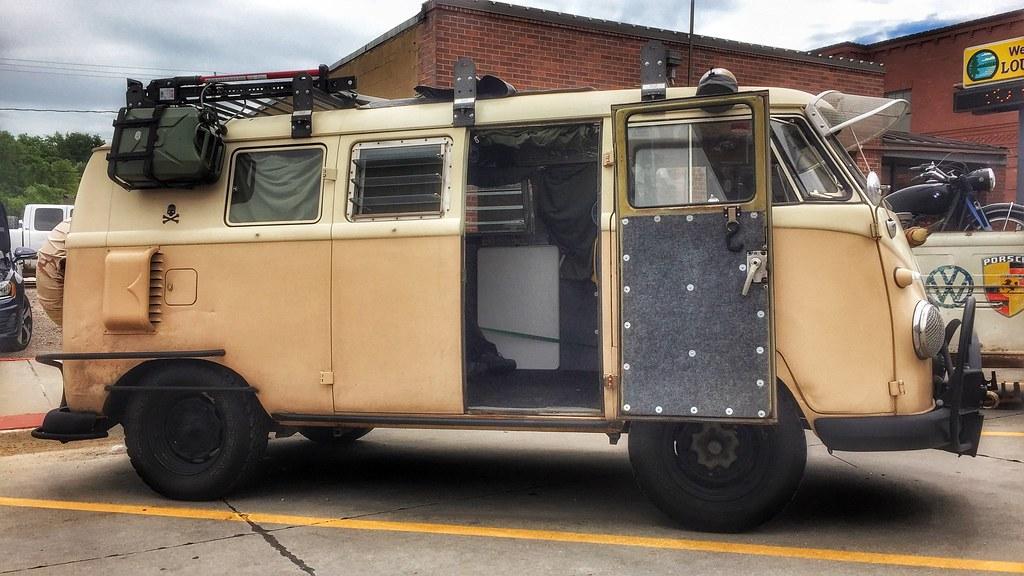 zombie apocalypse bus omaha volkswagen club show  shi flickr