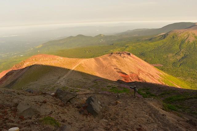 霧島山・高千穂峰の御鉢