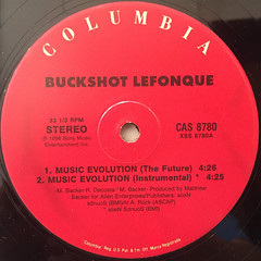 BUCKSHOT LEFONQUE:MUSIC EVOLUTION(LABEL SIDE-A)