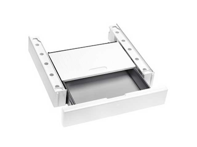 Miele WTV 511 giunzione colonna bucato con piano estraibile E9351780