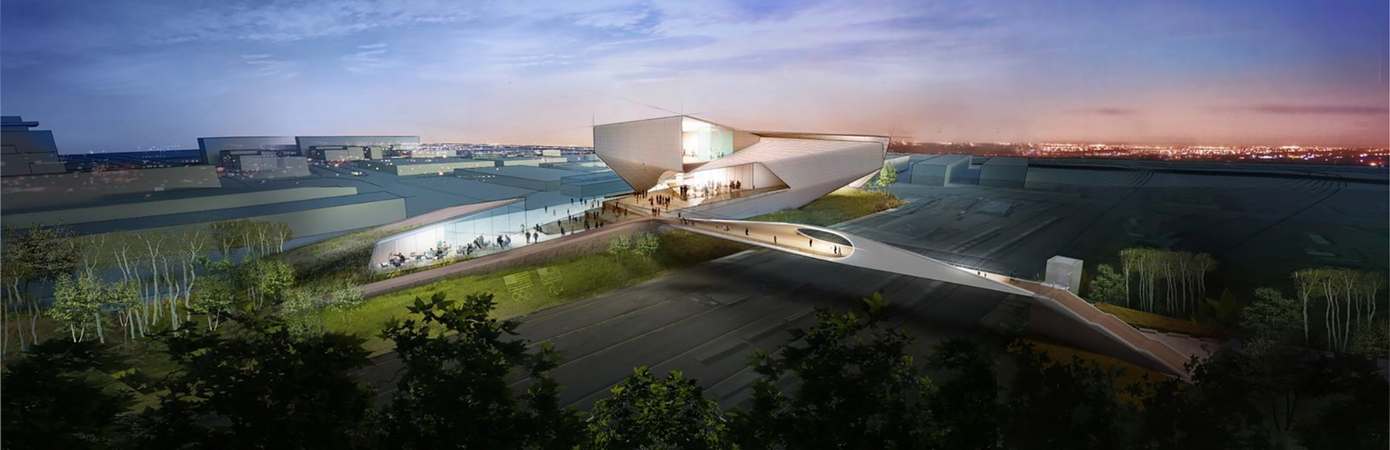 United States Olympic Museum design by Diller Scofidio + Renfro