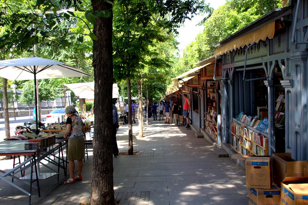 Madrid, Cuesta de Moyano
