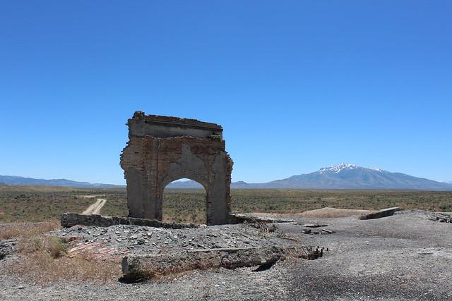 Metropolis school house ruins