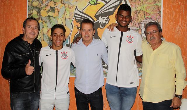 Jorge Moraes, Ramon, Janio Moraes, Nathan e Vitor Lima