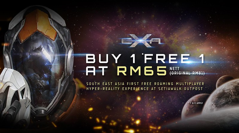 EXA SetiaWalk Outpost Promotion