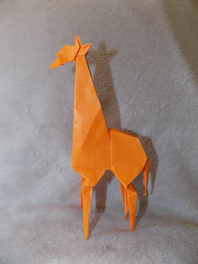 Giraffe By John Montroll Diagrams Are In The Book Animal Flickr Origami Diagram Saarse27