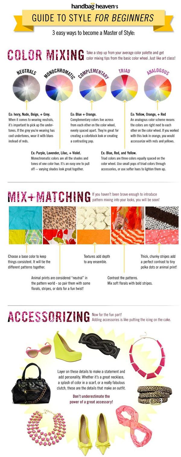 Consejos para ser una experta en moda infografia