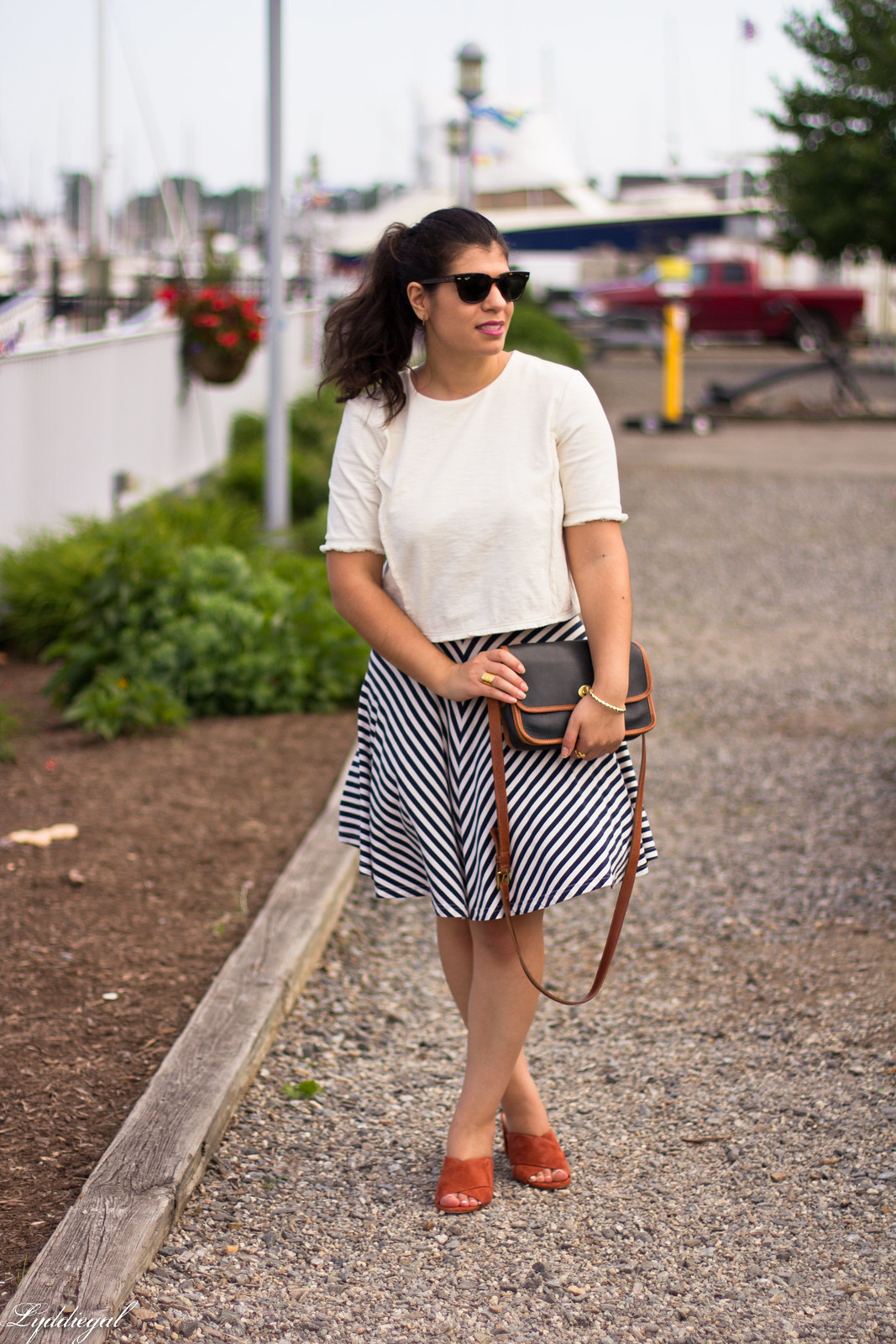 white crop top, striped skirt, madewell mule sandals-1.jpg